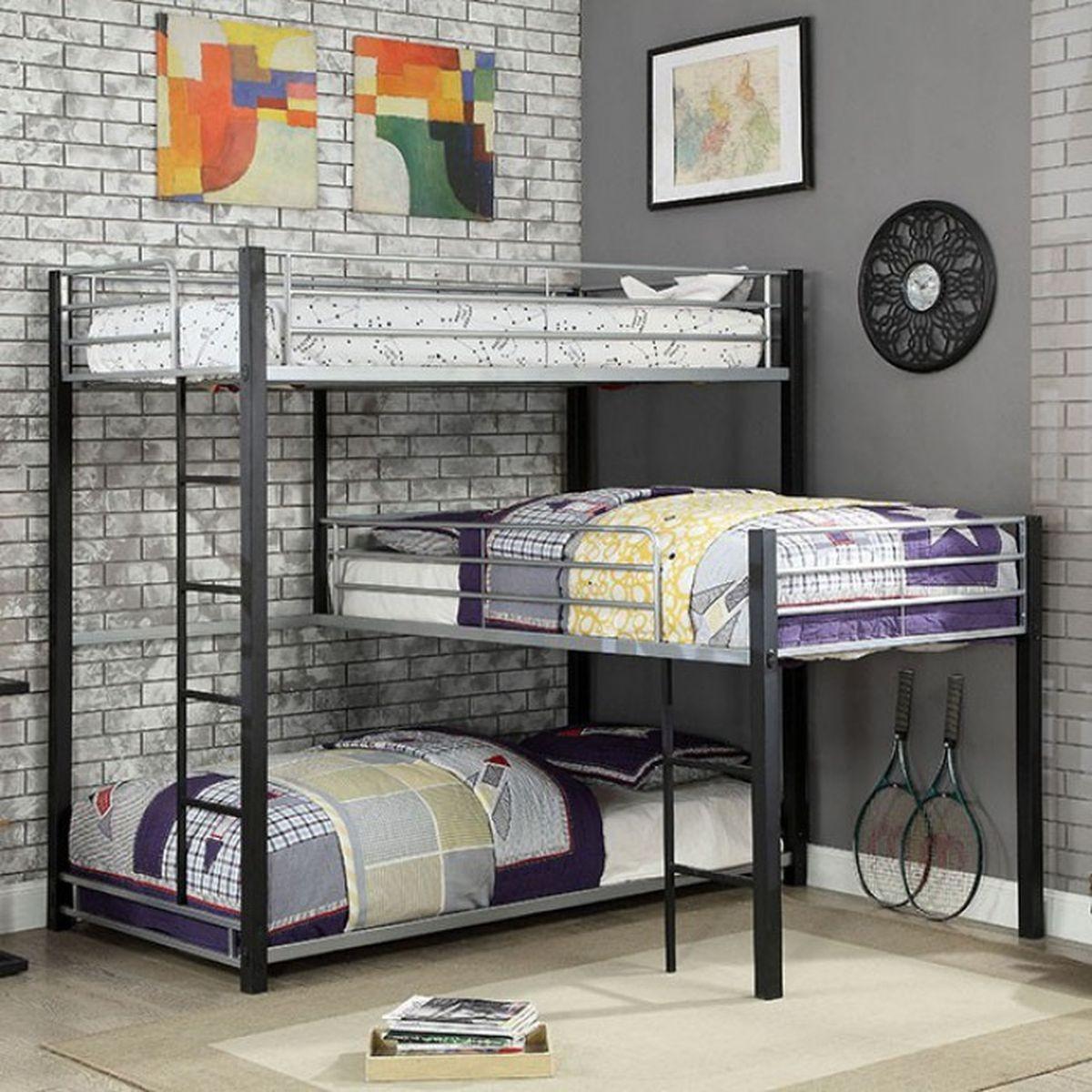 Aubrey Bunk Bed (P.O CM-BK919)
