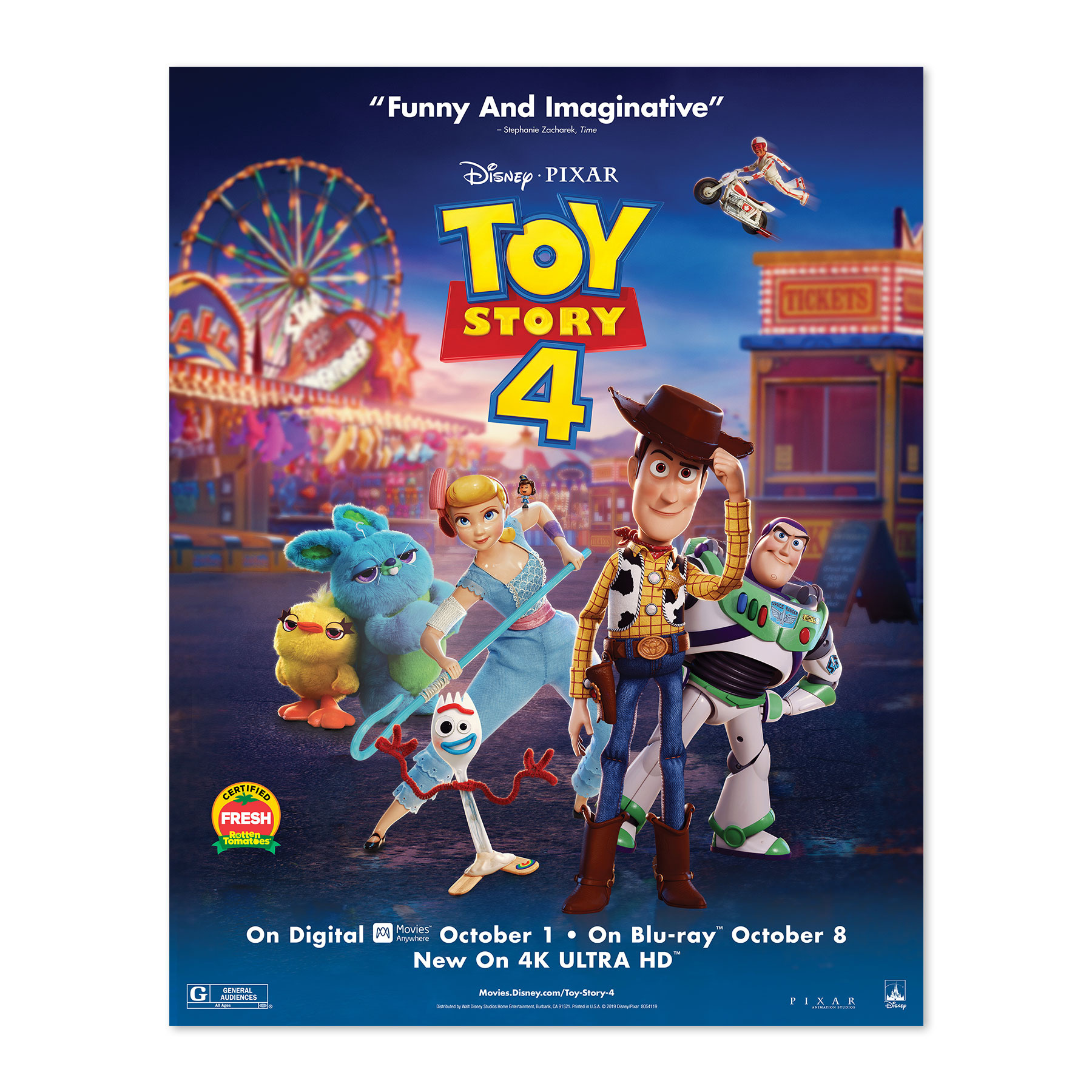 Toy Story 4 Mini Poster