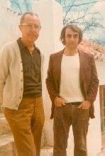 Alvin and I (Robert Livesey) in Spain