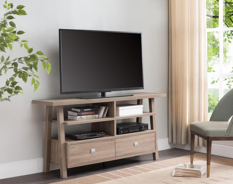4808-TAU Jarvis Taupe TV Stand