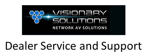 Visionary Solutions Support