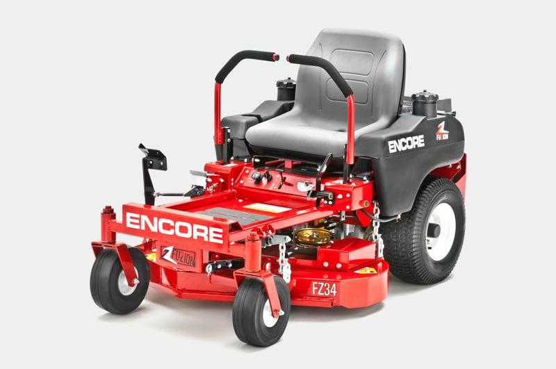 "Encore Fuzion Zero-Turn $4,199 18 HP Kawasaki 34"" Fabricated Deck"