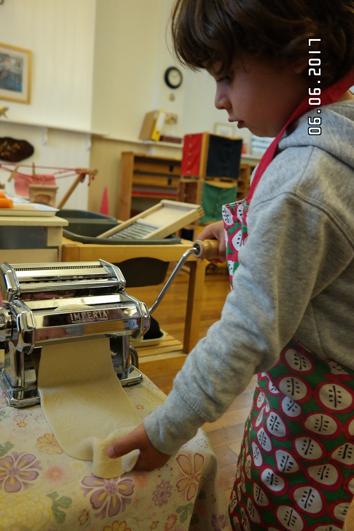 Pasta making activity