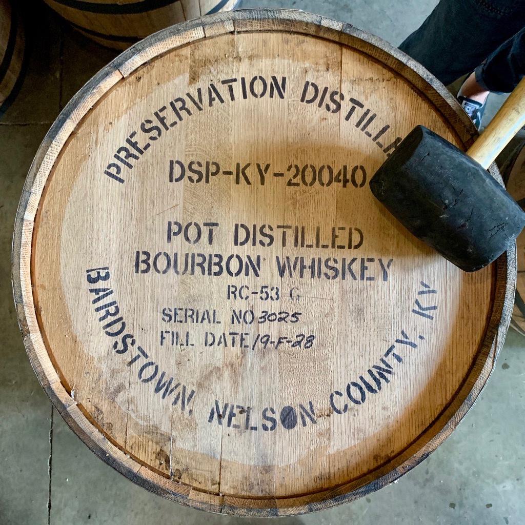 Bourbon Barrel - Preservation Distillery
