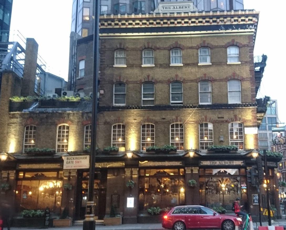 The Albert Tavern, Victoria Street, London