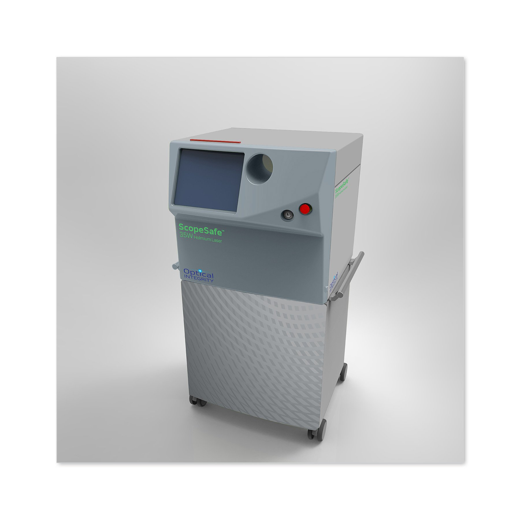 Optical Integrity Holmium Laser Device Graphics