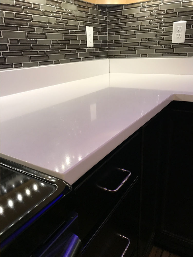 Kitchen Remodel With Backsplash Installation