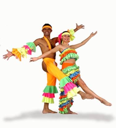 Bailarines Carnaval