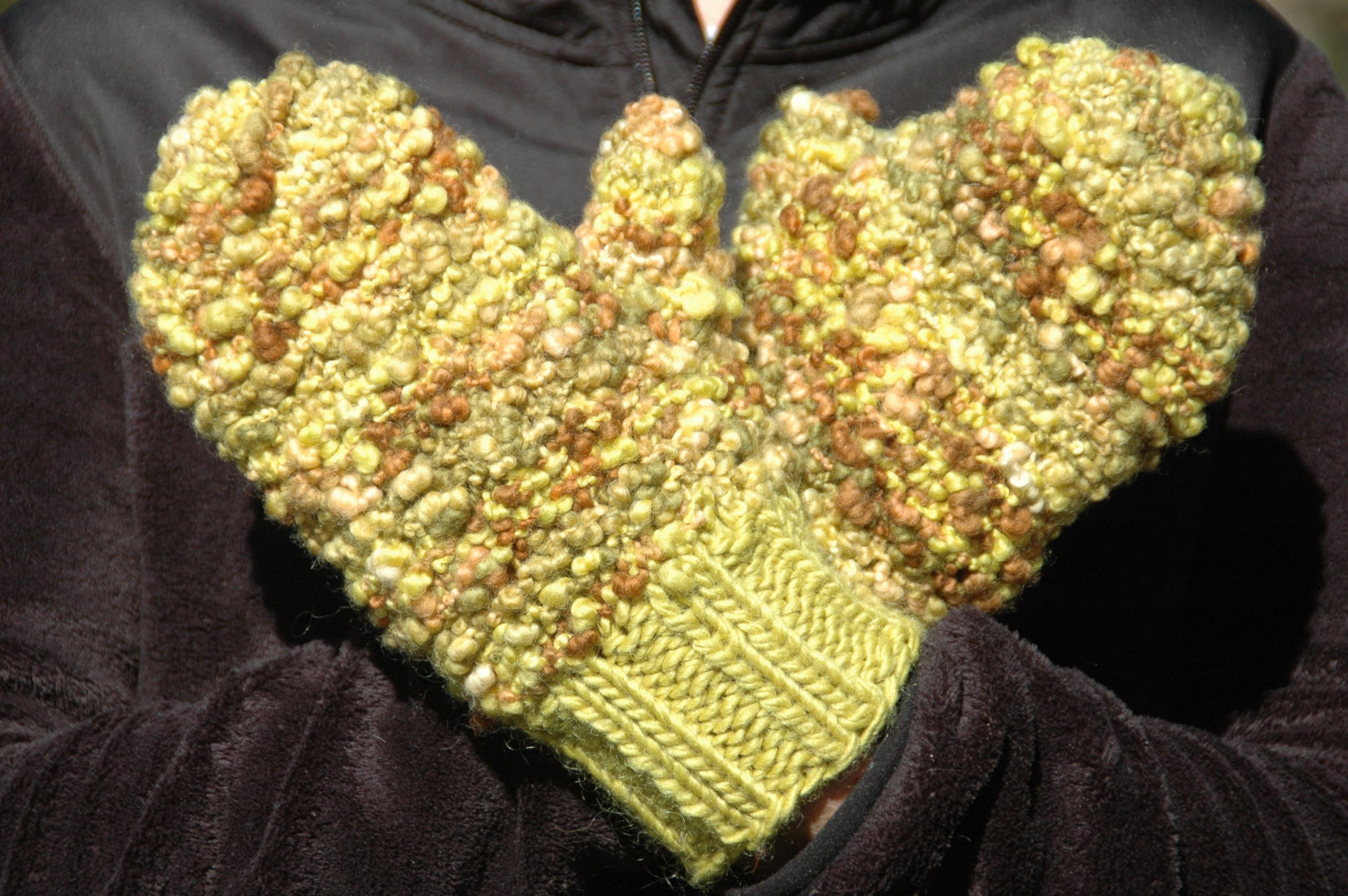 Soisson Chunky wool Mittens