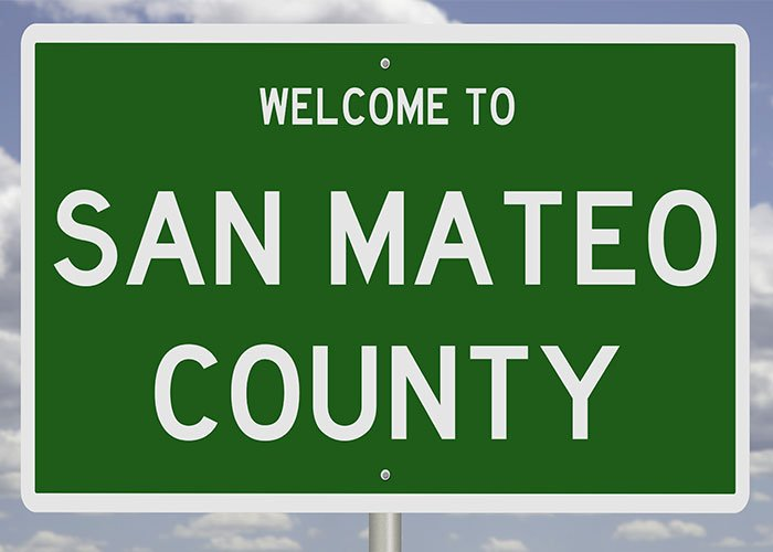 Sign For San Mateo County