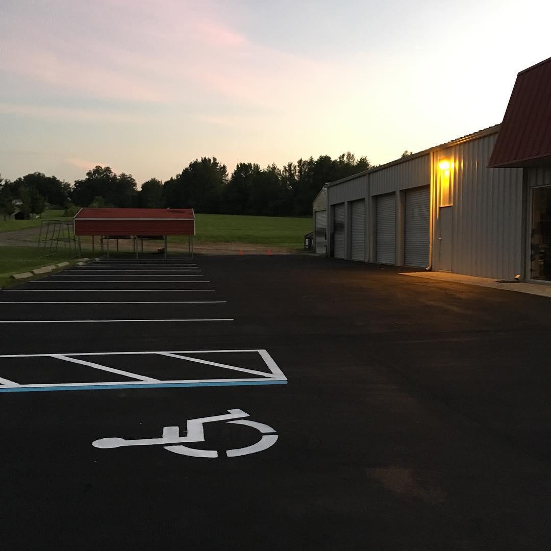 Parking Lot Restored