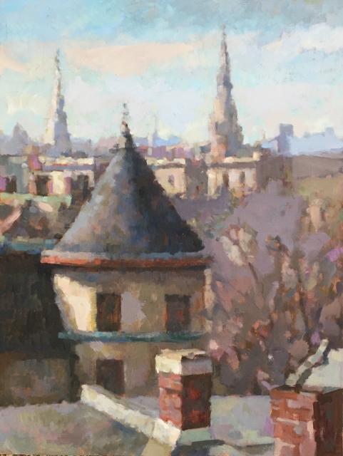 Bernard Dellario, Columbia Heights Rooftops