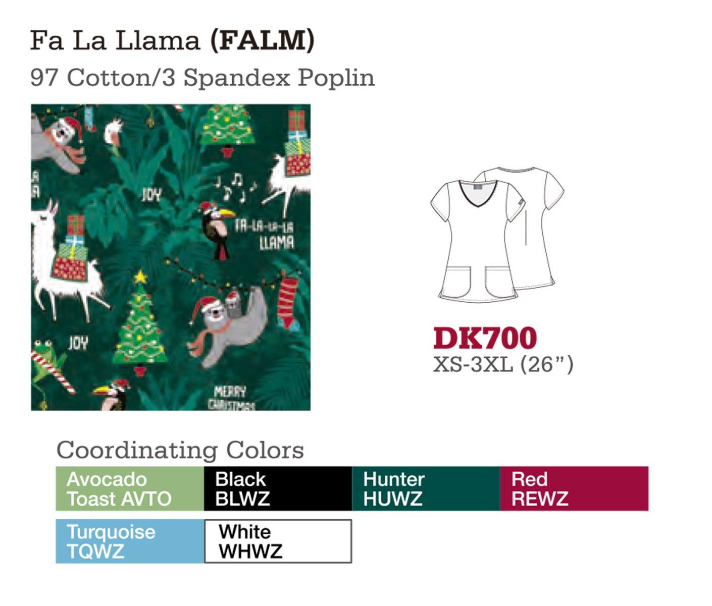 Fa La Llama. DK700.