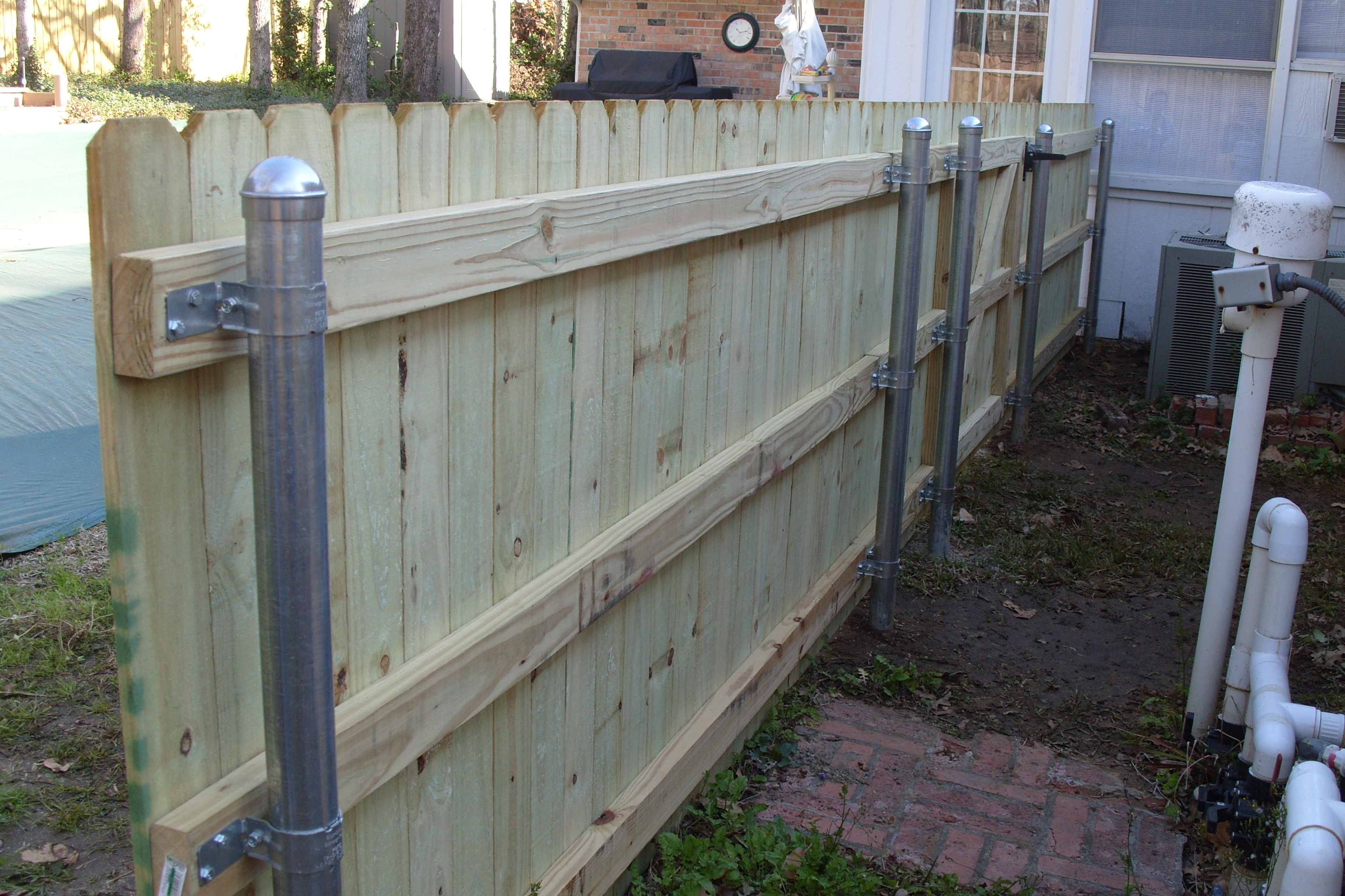 New Wooden Fence