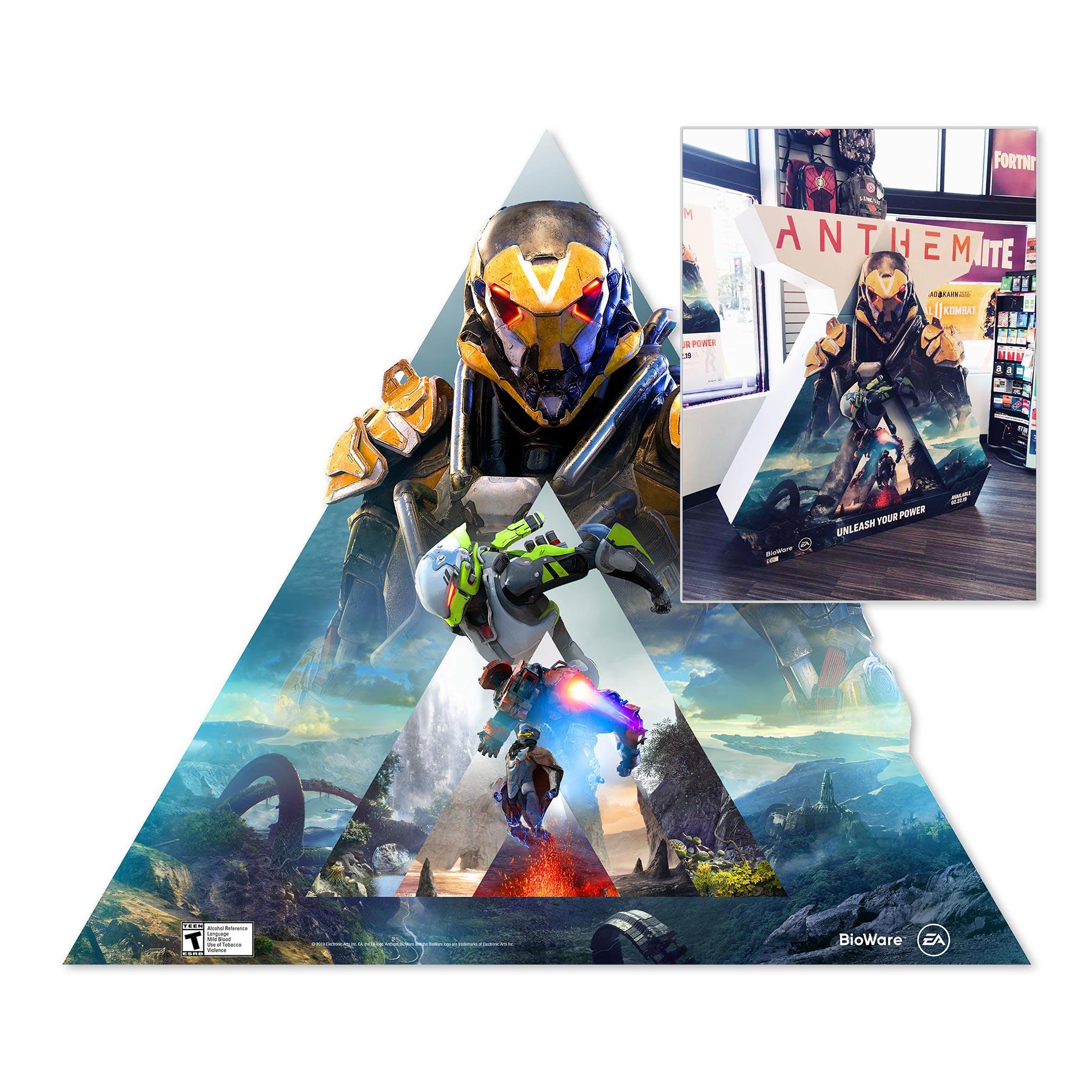 Anthem GameStop Display
