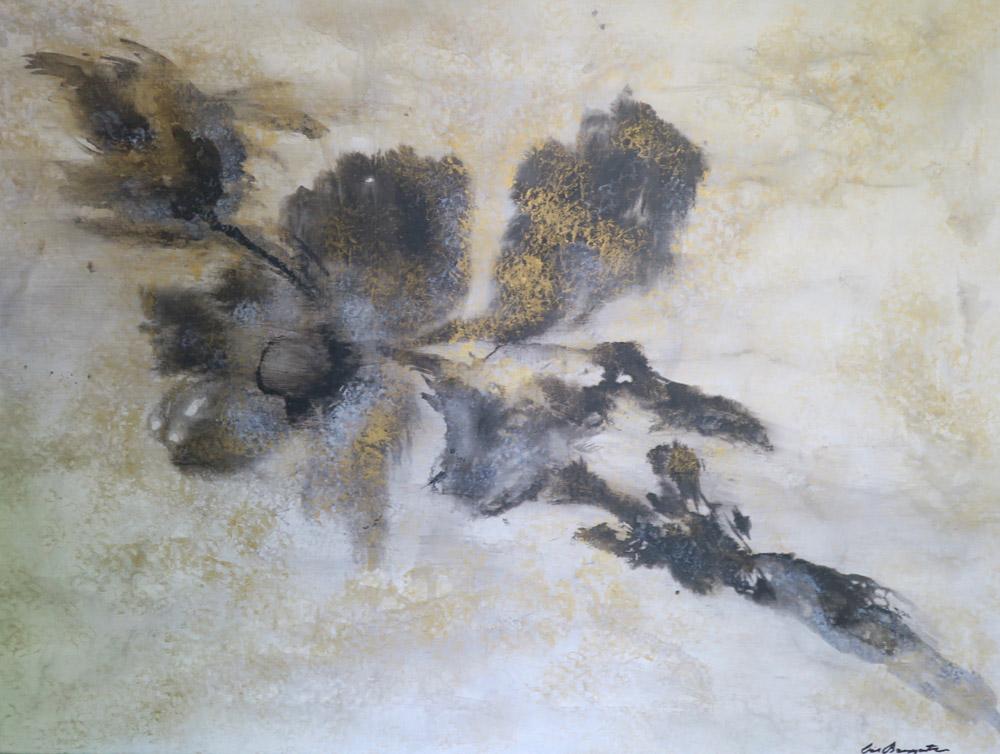 black flower       32  x 42