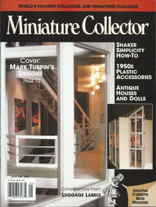 Miniature Collector Magazine January 2004