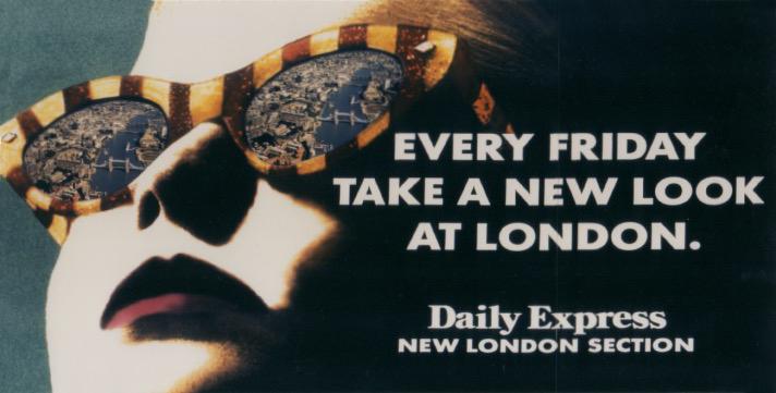 Daily Express Billboard - London