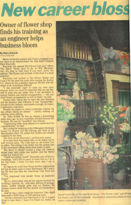 The Sheboygan Press, Autumn 1999