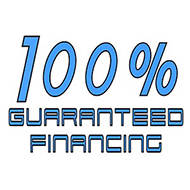 100% Guaranteed Financing Graphic