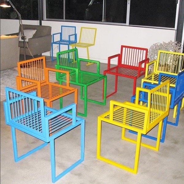 Custom Furniture Rainbow