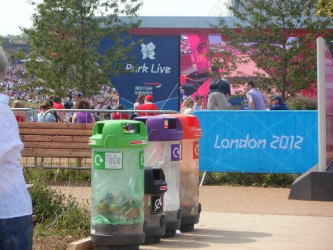 The Park Live area in the Olympic Park