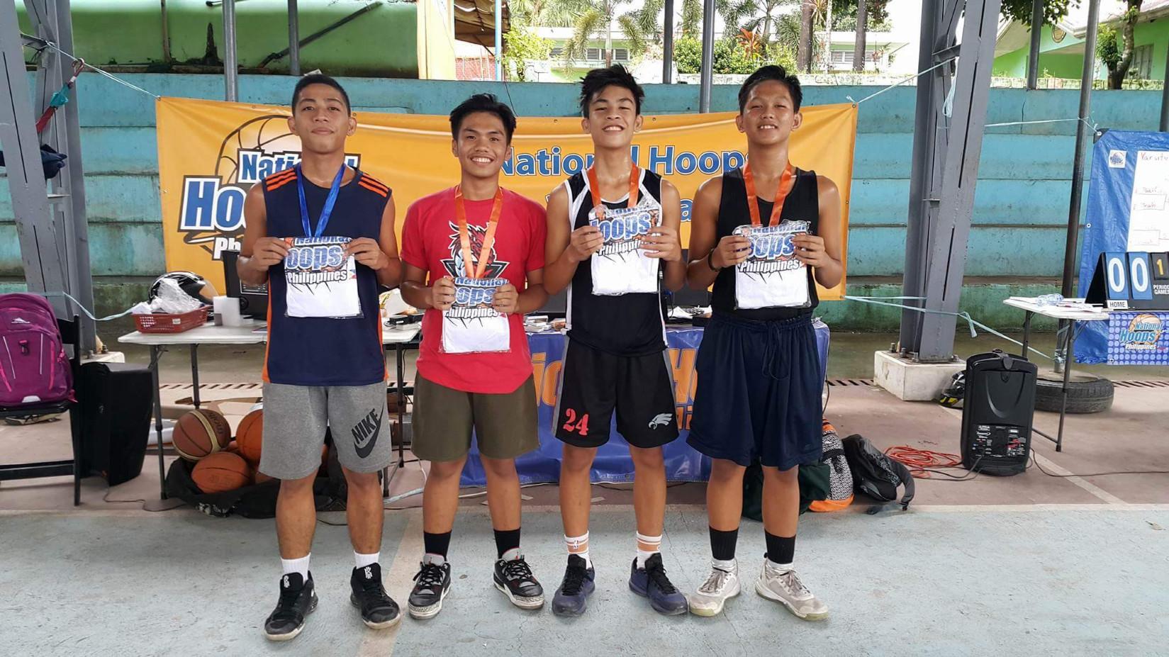 NHP in Dinalupihan Bataan Junior Varsity Champion