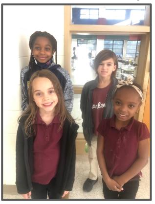 February Spotlight Students