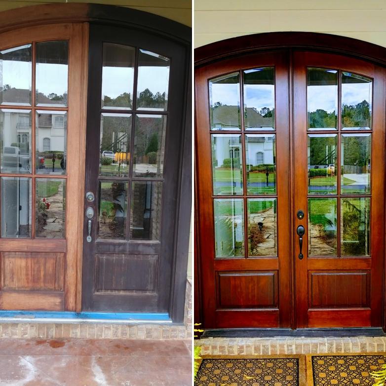 Wood Door Renovation