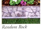 Random Rock stamp