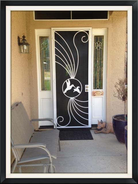 Paradise Door - Custom size Tall