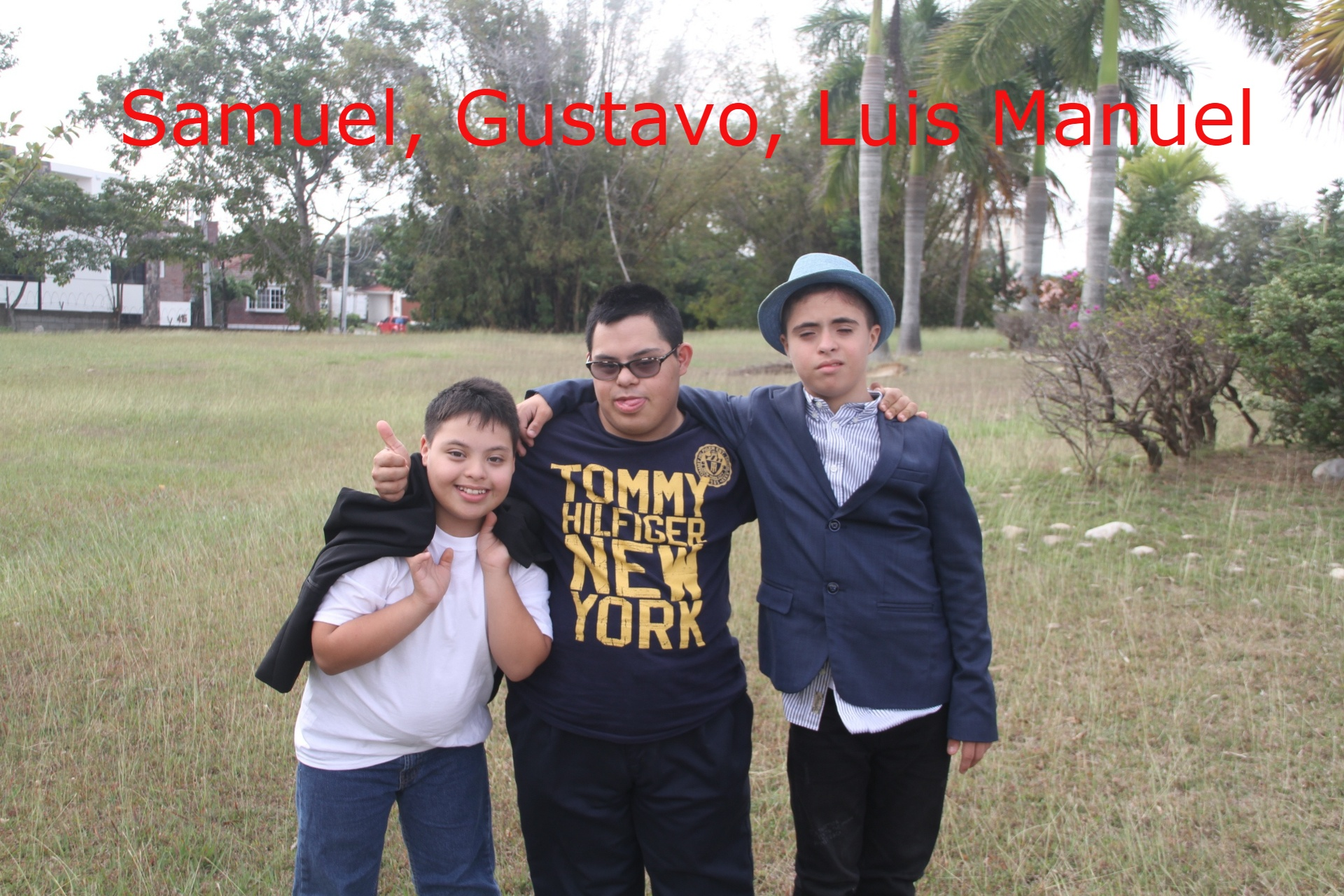 Samuel, Luis Gustavo, Luis Manuel