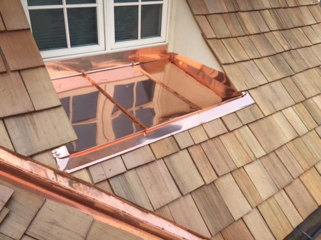 Copper Window Pan