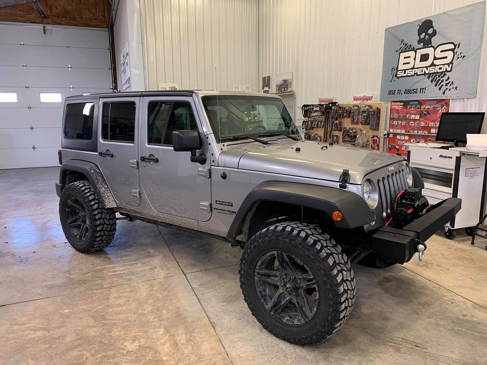 Light Gray Jeep