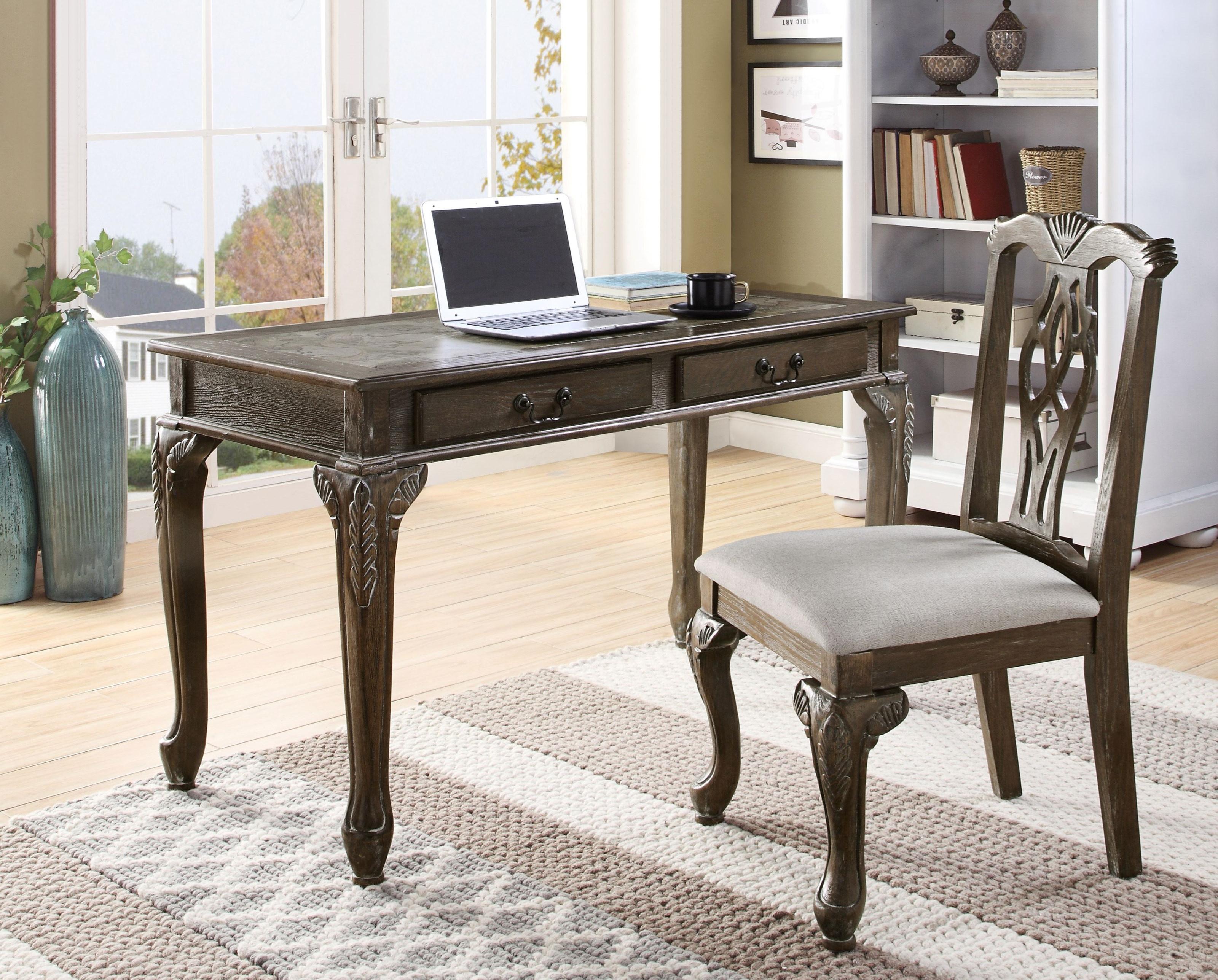 5205Set-GY Desk & Chair Set