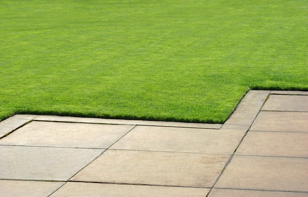 Patio grass