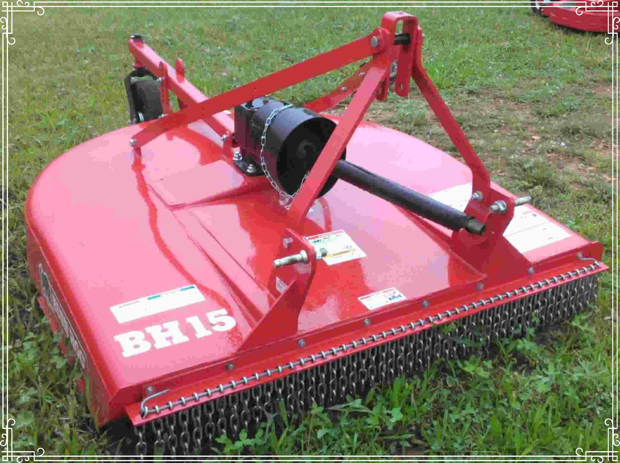 Bush Hog Medium Duty Mower, WE Stock it  in 5, 6 & 7 ft cuts
