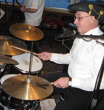 Arrr-rated drummer