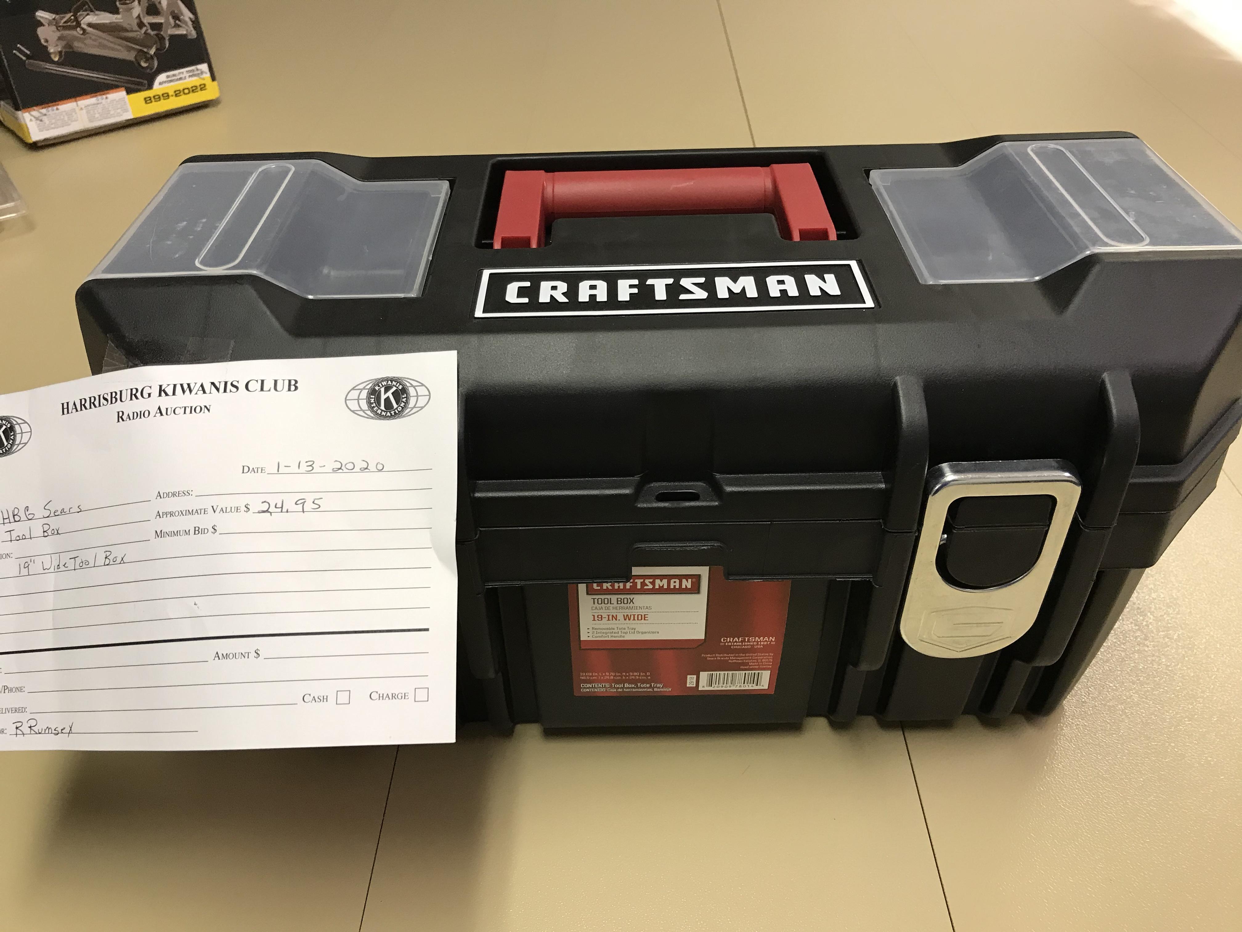 Item 308 - Harrisburg Sears Craftsman Tool Box