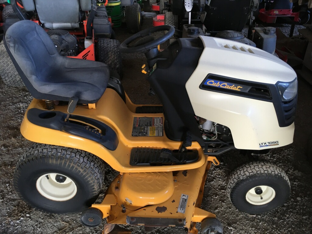 """Item 503 - M&S Implement Used Cub Cadet Lawn Tractor - 22 HP, 50"""" Cut, Hydro Transmission"""