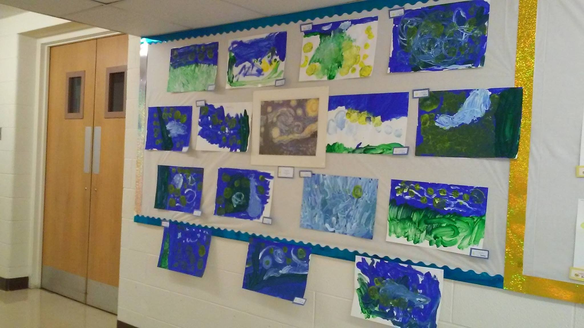 Van Gogh's Starry Night (PreK summer program)