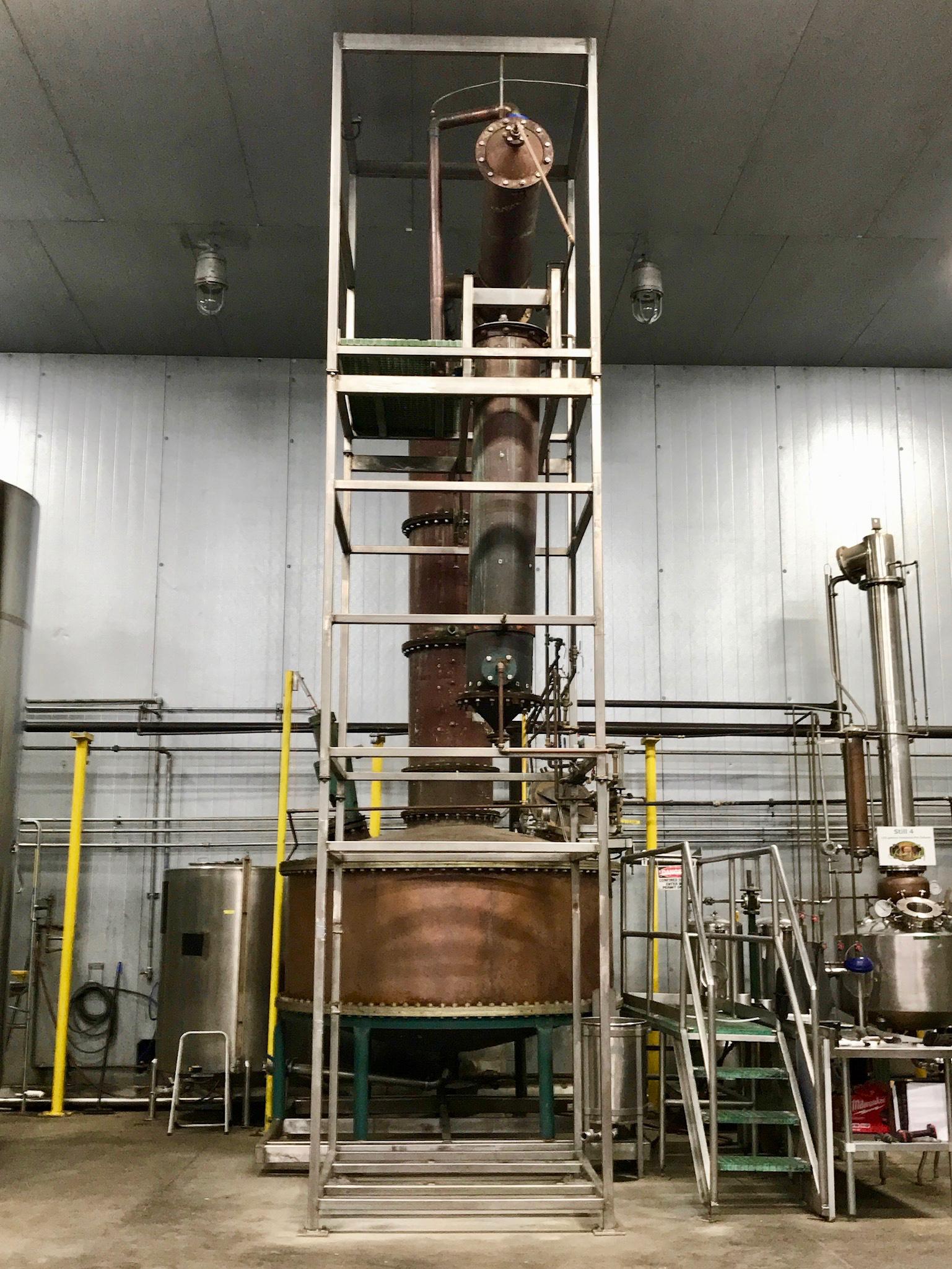 Finishing Still - Kentucky Artisan Distillery