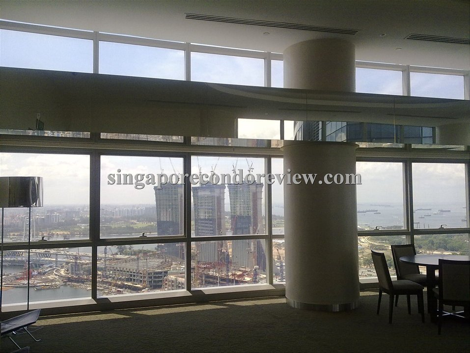 Residents' Function room on Level 44 of Tower 1
