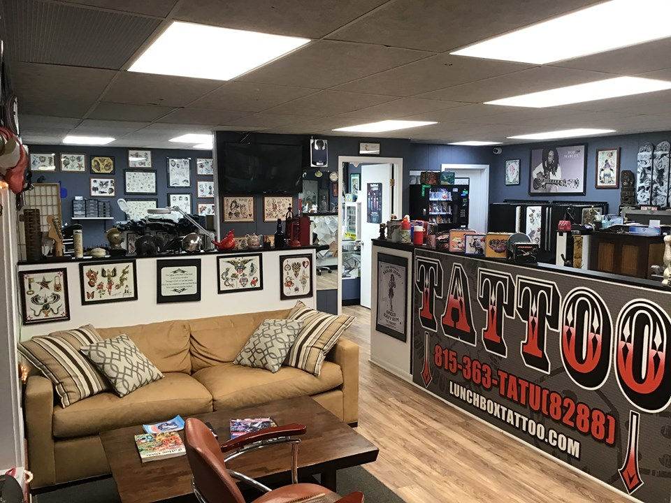 Best Tattoos in Johnsburg, IL, LUNCHBOX TATTOO