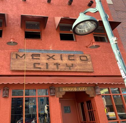 Outside Mexico City Lounge 2