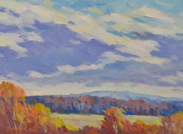 Moving Skies, 12 x 16 Oil