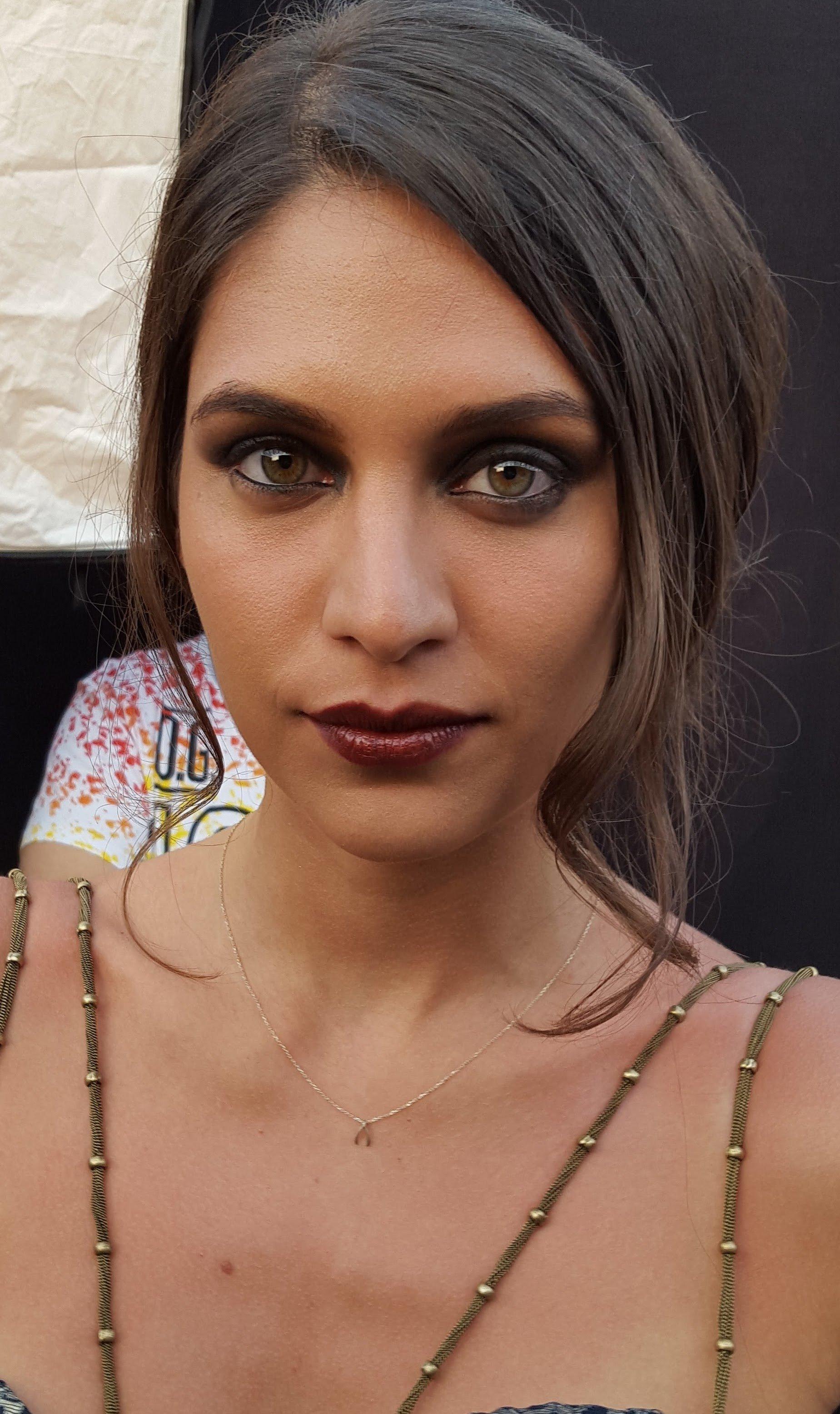 Dark Makeup Look