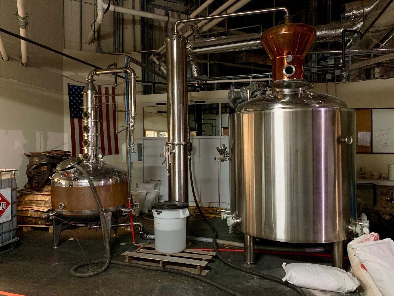 Boundary Oak Distillery Stills
