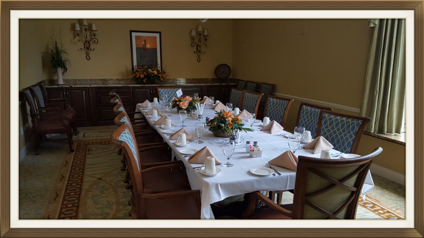 Private Dining Accommodations