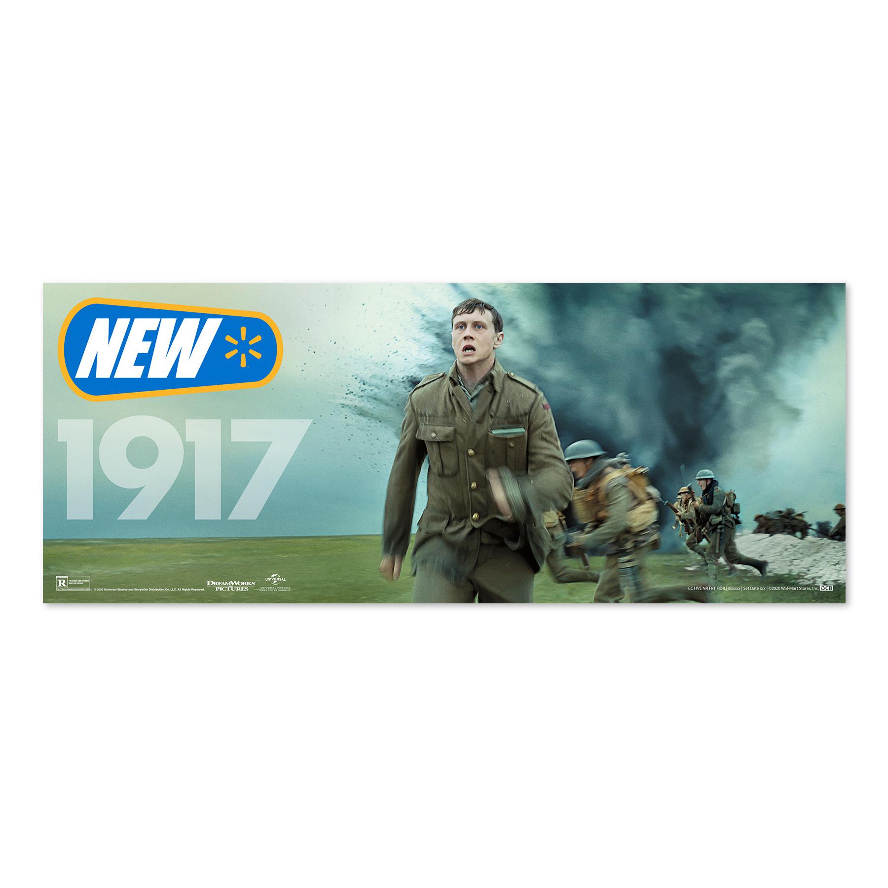 1917 Walmart New Release Sign
